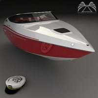 Sea Ray Pachanga 22 3D Model