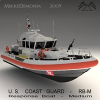 U.S. Coast Guard - RB-M 3D Model