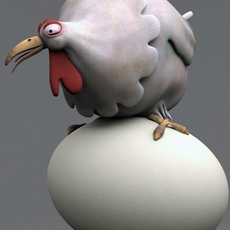 Chicken_Rig for Maya 1.3.0