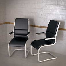 Topdeq Artes Sit-it chair 3D Model