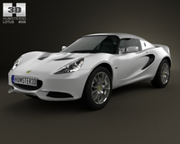 Lotus Elise S 2012 3D Model