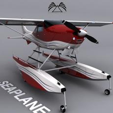 Seaplane 01 3D Model