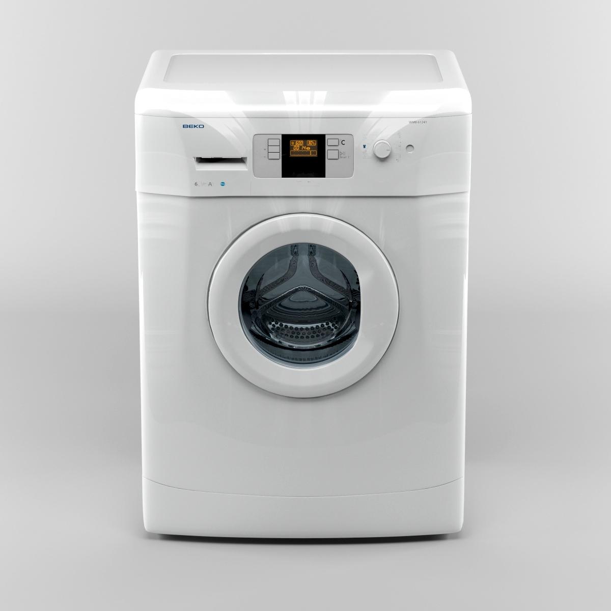 Beko Washing Machine 3d Model Wiring Diagram 08 42 33 706 10000 4