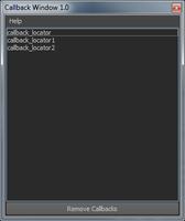 Free Callback Utilities for Maya 1.0.0 (maya script)