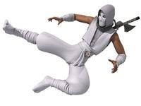 Ninja RIGGED 3D Model