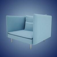 SODERHAMN Armchair 3D Model