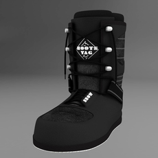 Snow boots 3D Model