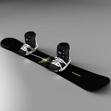 Snow_board 3D Model