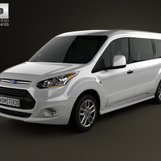 Ford Tourneo Connect 2014 3D Model