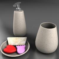 Bath Set 3D Model