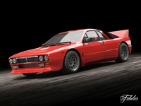 Lancia 037 Stradale 3D Model