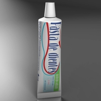 Toothpaste 3D Model