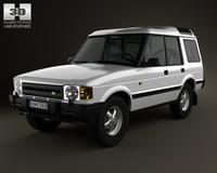 Land Rover Discovery 5-door 1989 3D Model