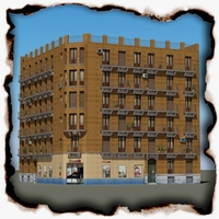 Building 70 3D Model