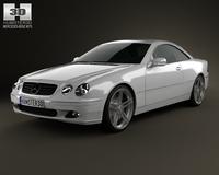 Mercedes-Benz CL-Class (W215) 2006 3D Model