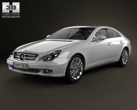 Mercedes-Benz CLS-Class (C219) 2006 3D Model
