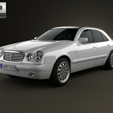 Mercedes-Benz E-Class sedan (W210) 1996 3D Model