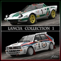 Lancia collection 1 3D Model