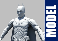 Batman - The Dark Knight 3D Model