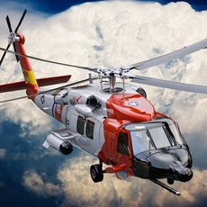 SH-60 Seahawk_Coast Guard 3D Model