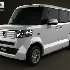 Honda N Box plus JF1 2012 3D Model