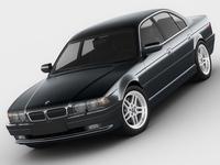 BMW 7 e38 1994 - 2001 3D Model