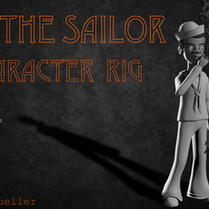 Bill The Sailor Maya Rig 3D Model