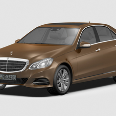 2014 Mercedes Benz E Class 3D Model