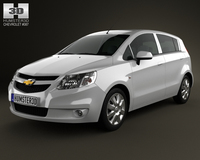 Chevrolet Sail hatchback 2012 3D Model