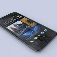 HTC One Mini 3D Model