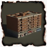 Building 71 3D Model