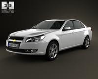 Chevrolet Epica (CN) 2012 3D Model