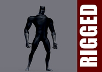 Black Panther (Rig) 1.0.1 for Maya