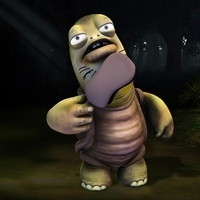 Fantasy Turtle Character 3D Model