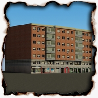Building 72 3D Model
