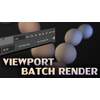 Render Window / viewport Batch Render Script for Maya 1.0.0 (maya script)