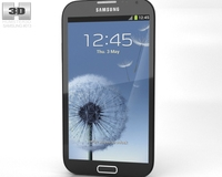 Samsung Galaxy Note 2 3D Model
