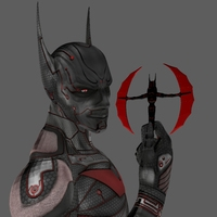 Batman Beyond : Rigged 0.0.1 for Maya