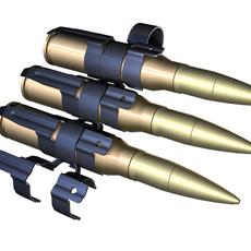 Ammunition Belt 3D Model