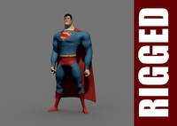 Superman (Rig) for Maya 1.0.2