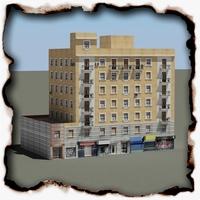 Building 73 3D Model