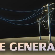 Hanging Rope / Cord Generator (curve generator) 1.2.0 for Maya (maya script)