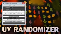 Universal UV Randomization script for Maya 1.1.0 (maya script)