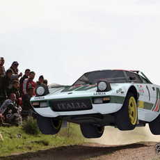 Lancia Stratos std mat 3D Model