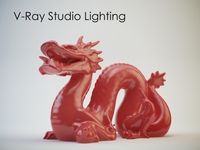 V-Ray Studio Lighting Set A (30cm) for 3ds Max 3D Model