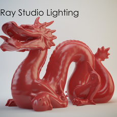 V-Ray Studio Lighting Set B (100cm) for 3ds Max 3D Model