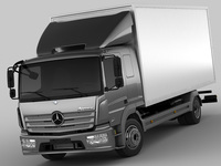 Mercedes Atego long 2014 3D Model