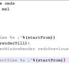 viewport / renderview Batch render script - LITE for Maya 1.0.0 (maya script)
