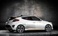 Hyundai Veloster Turbo std mat 3D Model