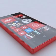 s Nokia Lumia 720 520 3D Model